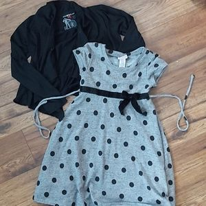 Holiday Dress and Jersey Cover Size 8